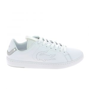 Lacoste Basket mode sneakerbasket mode sneakers carnaby evo light blanc gris 37