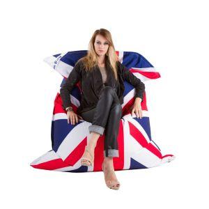 Pouf design géant XXL Union Jack