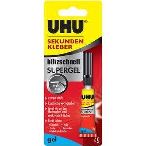 UHU 48720 - Colle instantanée Superflex Gel 10 g