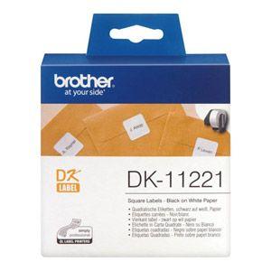 Brother DK-11221 - 1000 étiquettes en rouleau 23 x 23 mm