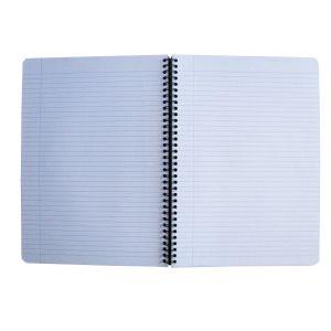 Oxford 100101918 - Cahier Urban Mix rel. intégrale A4 180p./90 feuilles 90g/m², ligné 7mm + marge