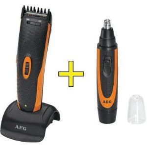 AEG HSM/R 5597 - Tondeuse cheveux, barbe, nez et oreilles rechargeable