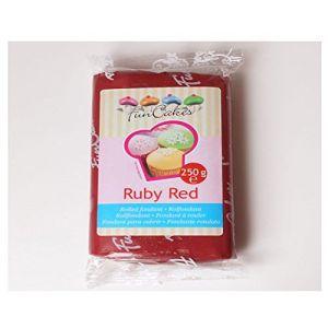 FunCakes Pâte à sucre - Rouge Rubis