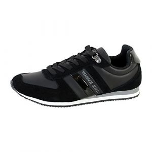 Versace Jeans Running Homme Baskets Mode - Noir - 45 EU