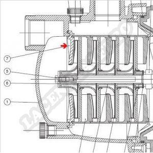 Procopi 977204 - Couvercle de diffuseur de surpresseur Multipool