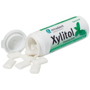 Miradent Xylitol Chewing Gum Menthe verte 30 chewing gum