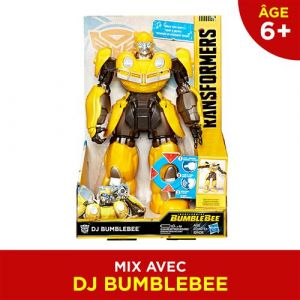 Hasbro Figurine Transformers DJ Bumblebee