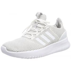 Adidas Cloudfoam Ultimate, Chaussures de Running Mixte Enfant, Blanc Cassé (FTWR White/FTWR White/Grey Two F17), 36 EU