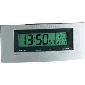TFA Dostmann 98.1030 - Réveil radio-piloté numérique