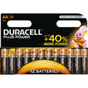 Duracell Plus Power batterie 12x AA