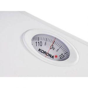 Korona Pèse-personne analogique 76640 (L x l x h) 250 x 250 x 45 mm blanc