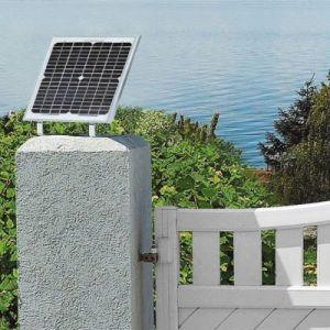 Somfy Kit d'alimentation solaire pour motorisation