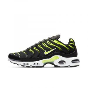 Nike Chaussure Air Max Plus pour Homme - Noir - Couleur Noir - Taille 47.5