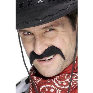 Moustache de cowboy pour adulte