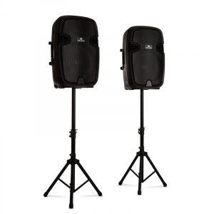 Malone Combo 2 Pack enceintes sono 2 voies 15 38cm Bluetooth 800W max. - noir