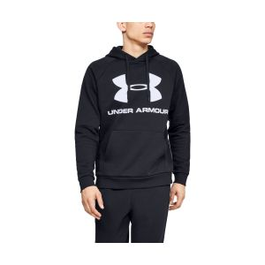 Under Armour Rival Fleece Sportstyle Logo Hoodie - Sweat à capuche taille S, noir