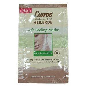 Luvos Masque Gommant Doux à l'Huile de Pêche - 15 ml