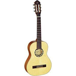 Ortega R121-1/2 Guitare Classique Taille 1/2 avec Housse