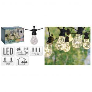 Progarden Ensemble d'éclairage à LED de fête de jardin 100 micro LED