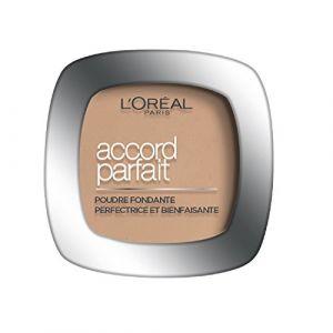 L'Oréal Accord Parfait 3.R. Beige Rosé - Poudre fondante perfectrice et bienfaisante