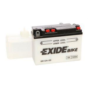 Exide Batterie moto 6N12A-2D 6v 12ah 80A