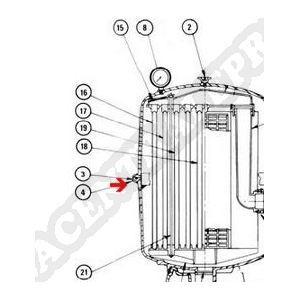 Procopi 252407 - Joint de cuve de filtre Fulflo