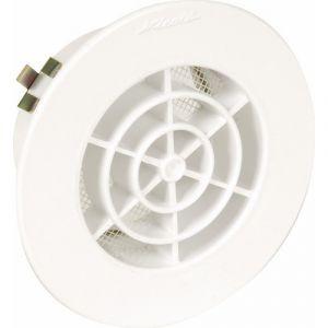 Nicoll Grille ronde intérieure avec moustiquaire PVC diamètre : 80 GATM80