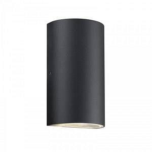 Nordlux Lampe murale d'extérieur ROLD LED Noir, 1 lumière Design Extérieur ROLD
