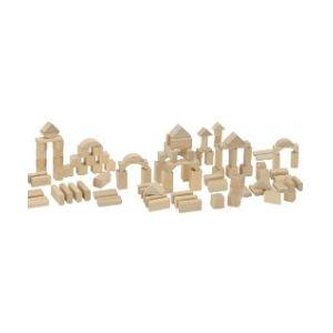 Heros Briques en bois naturel 100 pièces
