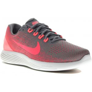 Nike Lunarglide 9 W Chaussures running femme Gris/argent - Taille 37.5