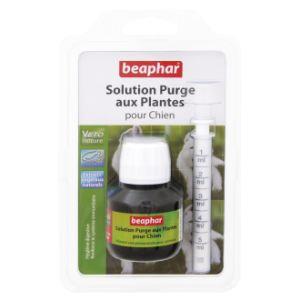 Beaphar Solution purge aux plantes pour chien (50 ml)