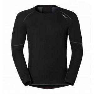 Odlo T-Shirt Homme ML Warm - Noir Noir - Homme