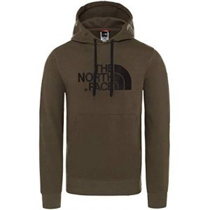 The North Face Light Drew Peak Sweat-Shirt à Capuche Homme, Vert (New Taupe Green), L