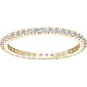 Swarovski Vittore Gold - Bague dorée avec cristaux pour femme