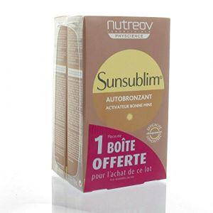 Nutreov Sunsublim, autobronzant - 28 capsules