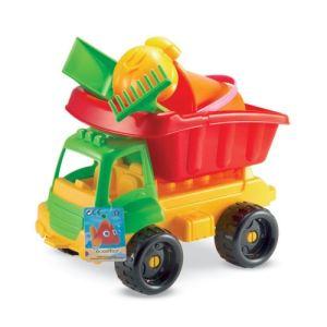 Ecoiffier Camion garni de jouets de plage (34 cm)