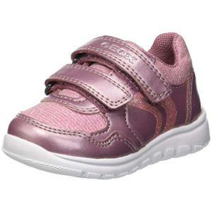 Geox B Xunday A, Sneakers Basses bébé Fille, Rose (DK Pink C8006), 23 EU