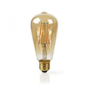 Image de AMPOULE À FILAMENT LED INTELLIGENTE WI-FI | E27 | ST64 | 5 W | 500 LM NEDIS WIFILF10GDST64