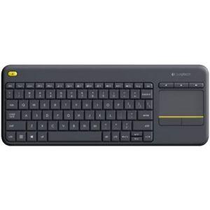 Logitech K400 Plus - Clavier sans-fil pour PC de Salon, Media center et HTPC