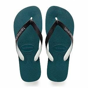 Havaianas Top Mix, Tongs Mixte Adulte, Vert (Petroleum), 43/44 EU (41/42 BR)