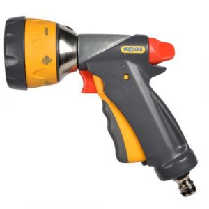 Hozelock Pistolet d'arrosage pour tuyau Multi Spray Ultramax Gris