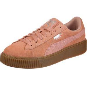 Puma Suede Platform Animal chaussures Femmes rouge T. 40,5