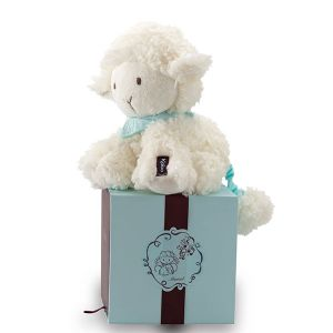Kaloo K963142- Peluche Amis musical mouton Vanille