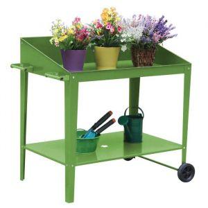 Pot de fleur en métal - Vertical Planter Kits - 90x55x90cm - Vert