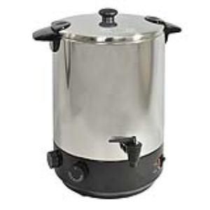 Kitchen Chef zj-200td - Stérilisateur électrique inox avec robinet et minuteur 19L
