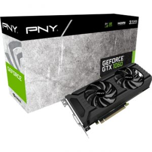 PNY GF1060GTX3GEPB - Carte graphique GeForce GTX 1060 3 Go GDDR5