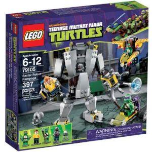 Lego 79105 - Tortues Ninja : L'attaque du robot de Baxter