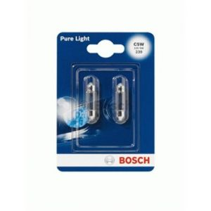Bosch 2 Ampoules C5W Pure Light 12 V