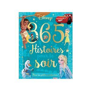 Hachette Disney pour les petits aventuriers 365 Histoires pour le Soir