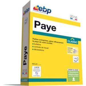 Paye Classic 2016 pour Windows